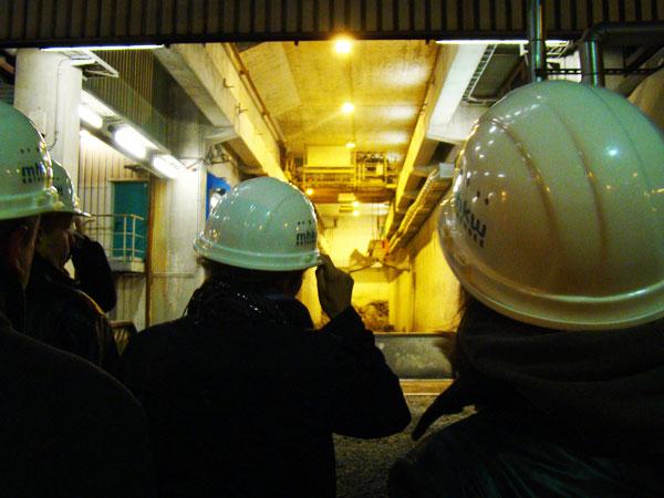 Besichtigung des Müllheizkraftwerks Rothensee (20.11.2008)