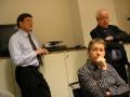 Besuch bei der Redaktion der Volksstimme Magdeburg (29.01.2008) - Foto: Günter Hartmann
