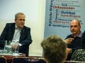 """Höllenritt Wahlkampf"" - Lesung mit Frank Stauss am 10.11.2015 in Magdeburg (Foto: Kevin Lahne)"