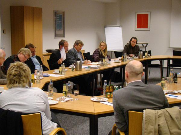 Mitgliederversammlung des Presseclubs Magdeburg am 26.11.2009