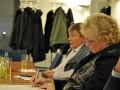 Die Vorstandsmitglieder Günter Hartmann und Heiderose Potstada - Jahresmitgliederversammlung des Presseclubs Magdeburg am 08.12.2011 im Francke-Saal des Rathauses