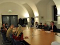 Jahresmitgliederversammlung des Presseclubs Magdeburg am 08.12.2011 im Francke-Saal des Rathauses