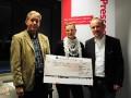 Spendenübergabe an das Voltiteam Herrenkrug auf der Mitgliederversammlung des Presseclubs Magdeburg am 12.12.2013 im KKH-Servicezentrum Magdeburg.
