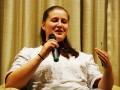 03.11.2009 im Maritim Hotel Magdeburg - Judith Kuhnert, Studentin der Sozialen Arbeit und Mutter einer neun Monate alten Tochter