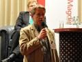 Norbert Doktor, Vorsitzender des Presseclubs Magdeburg, eröffnet die Podiumsdiskussion mit den Spitzenkandidaten zur Landtagswahl 2011 in Sachsen-Anhalt am 08.02.2011 im Maritim Hotel Magdeburg.