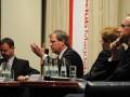 Podiumsdiskussion mit den Spitzenkandidaten zur Landtagswahl 2011 in Sachsen-Anhalt am 08.02.2011 im Maritim Hotel Magdeburg.
