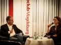 Presseclub-Abend mit Anja Heyde am 23.09.2014 im Maritim Hotel Magdeburg