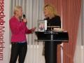 Anja Petzold und Susanne Fröhlich - Presseclub-Abend mit Susanne Fröhlich am 13.12.2011 in Magdeburg (Foto: Dany Stein)