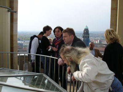 Pressereise nach Dresden (24./25.04.2005)