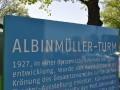 Höhepunkt war schließlich der Besuch des Albinmüller-Turms im Rotehornpark Magdeburg (Foto: Thomas Opp)