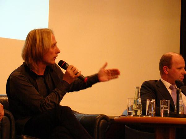 Öffentliche Podiumsdiskussion über den Tunnel am Damaschkeplatz (03.03.2009)