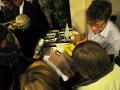 """Vortrags- und Gesprächsveranstaltung """"Eure Ehre – unser Leid"""" – Das Engagement gegen Zwangsheirat und Ehrenmord am 13.10.2011 mit Serap Çileli (Buchautorin und Menschenrechtlerin) - Stand der Buchhandlung Fritz Wahle"""