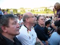 WM-Presselounge in der Strandbar Magdeburg mit Public Viewing Deutschland-Ghana