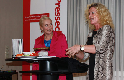 Anja Petzold und Susanne Fröhlich (Foto: Dany Stein)