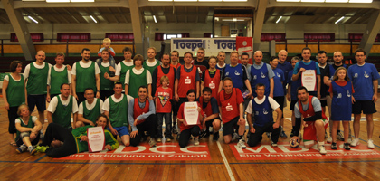 3. Handball-Benefizturnier des Presseclubs Magdeburg