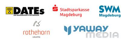 mit Unterstützung von DATEs, Stadtsparkasse Magdeburg, SWM, Rothehorn-Gruppe und Yaway Media