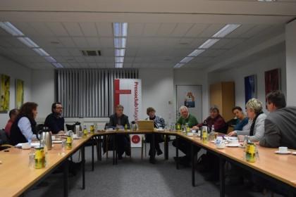 Mitgliederversammlung des Presseclubs Magdeburg e.V. am 05.12.2016