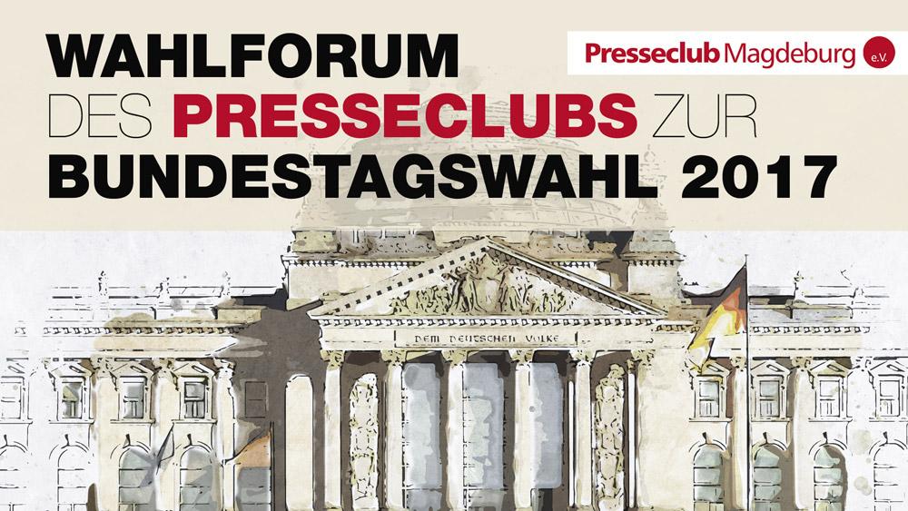 Wahlforum des Presseclubs zur Bundestagswahl 2017